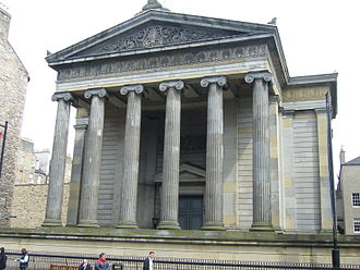 Royal College of Surgeons of Edinburgh - Surgeons' Hall by Playfair