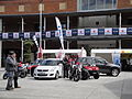 Suzuki dislay at Portsmouth Gunwharf Quays in May 2012 6.JPG