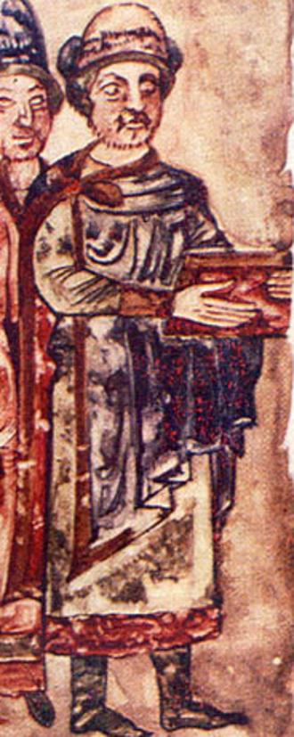Sviatoslav II of Kiev - Portrait commissioned by himself