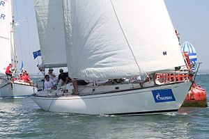 Swan 40 - Swan40 GBR975R Aelana at the 2013 Swan Europeans in Cowes (GBR) held by the Royal Yacht Squadron