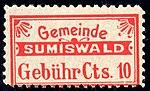 Switzerland Sumiswald 1905 revenue 10c 7.jpg