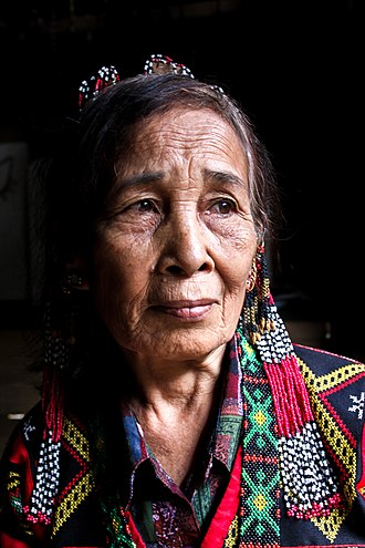 Tboli people - Image: T'boli woman