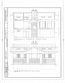 T. S. Eastabrook House, 200 North Scoville Street, Oak Park, Cook County, IL HABS ILL,16-OAKPA,2- (sheet 4 of 4).png