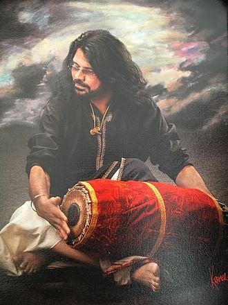 T. S. Nandakumar - Image: T S Nandakumar , Mridangam