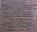 Tablica na pomniku Ofiar Zbrodni Katyńskiej we Wrocławiu.jpg
