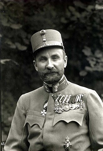 Tadeusz Jordan-Rozwadowski - Rozwadowski in an Austro-Hungarian military uniform, 1918