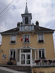 The town hall in Taillecourt