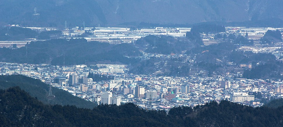 Takayama from Mount Kurai