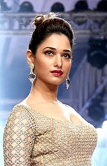 Tamannaah Bhatia at Lakme Fashion Week,2015.jpg