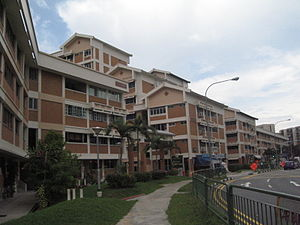 Tampines - Apartment blocks in Tampines Town