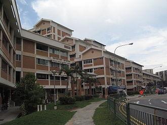 Tampines - Apartment blocks in Tampines Town