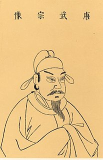 Emperor Wuzong of Tang emperor of the Tang Dynasty