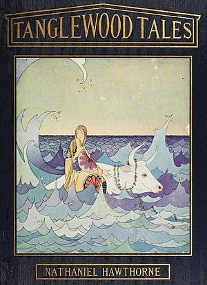 Tanglewood Tales - 1921 edition illustrated by Virginia Frances Sterrett