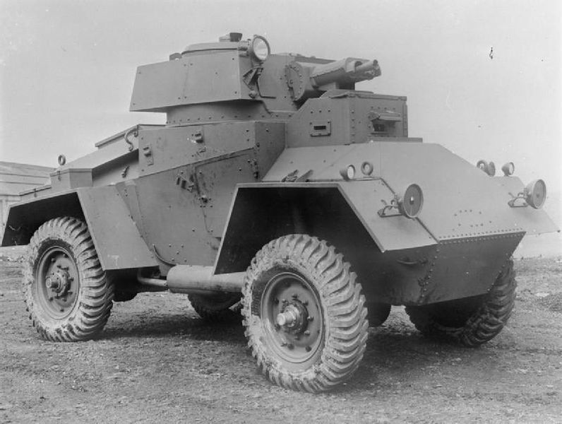 The Guy Armoured Car