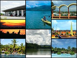 A collage of some places in Tarapoto