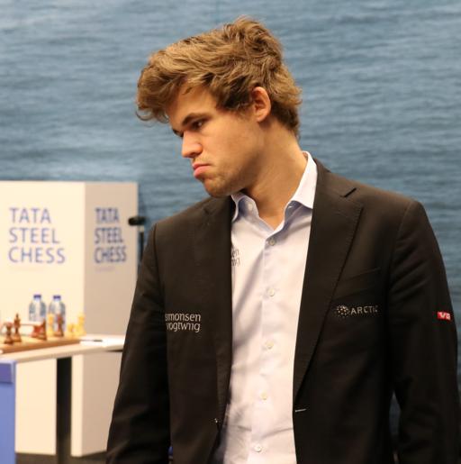 Tata Steel 2017 Magnus Carlsen (cropped)