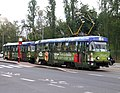 Tatra T3SUCS n°7260 on the line 9 in Prague - Novy Smichov advertising 2012.JPG