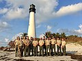 Team 1's last day at Bill Baggs Cape Florida State Park. They head to St. Augustine today and will be on the way home tomorrow. They will leave equipment for Team 2 which leaves Friday to head to Florida. (37178159866).jpg