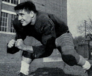 1954 Michigan Wolverines football team - Team captain Ted Cachey