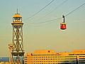 Telefèric del Port, cabina i WTC.jpg