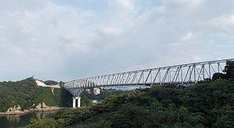 Five Bridges of Amakusa - Tenmon Bridge