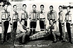 Vargas de Tecalitlán - Mariachi Vargas in 1950