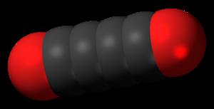 Tetracarbon dioxide - Image: Tetracarbon dioxide 3D spacefill