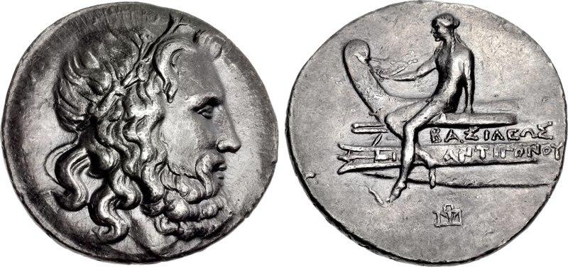 Tetradrachm, 229-221, Antigonos Doson