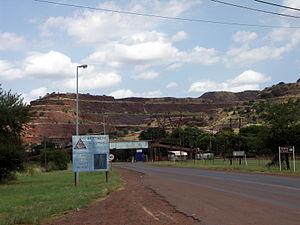 Thabazimbi - Iron ore mining in Thabazimbi