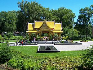 Olbrich Botanical Gardens - The only Thai pavilion in the contiguous United States