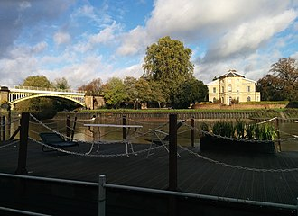 Asgill House - Image: Thames River Richmond, Surrey, UK