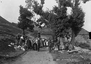 "New Radnor - The "" Wimberry"" market New Radnor, c.1910's"