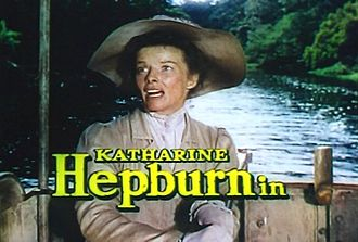 The African Queen (film) - Image: The African Queen, Hepburn 2