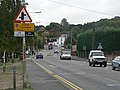 The Bread and Cheese Hill on the A13, Benfleet - geograph.org.uk - 1514079.jpg