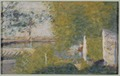 The Bridge at Bineau (Georges Seurat) - Nationalmuseum - 23400.tif