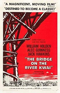 <i>The Bridge on the River Kwai</i> 1957 World War II film directed by David Lean