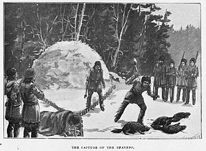 Fur trade in Montana - Image: The Capture of the Beaver ER Young 1899