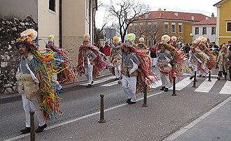 Istro-Romanians - Carnivals Zvončari from Žejane, 2006