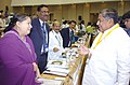 The Chief Minister of Karnataka, Shri Dharam Singh and the Chief Minister of Tamil Nadu, Ms. J. Jayalalitha at the 51st meeting of National Development Council in New Delhi on June 27, 2005.jpg