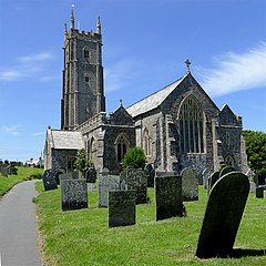 The Church of St Nectan in Stoke near Hartland, Devon (geograph 4558235).jpg