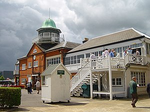 Brooklands Museum - Image: The Club House Brooklands geograph.org.uk 473347