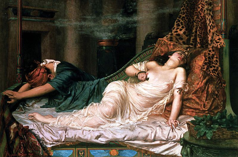 Bestand:The Death of Cleopatra arthur.jpg