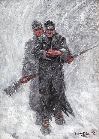 Desertion - The Defector, by Octav Băncilă, 1906
