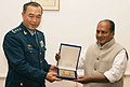 The Deputy Chief of General Staff, People's Liberation Army of China, Lt. Gen Ma Xiaotian called on the Defence Minister, Shri A. K. Antony, in New Delhi on December 10, 2008.jpg