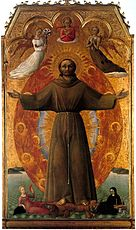 The Ecstasy of st Francis--Sassetta--Bernson collecton--Settignano