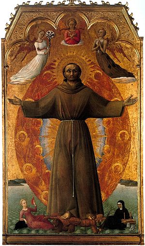Villa I Tatti - Sassetta's Ectasy of Saint Francis, highlight of Berenson's Italian art collection