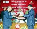The Executive Director (Traffic), Indian Railways Shri Shiv Kumar Chaudhary and the Managing Director.jpg