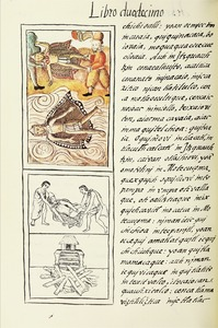 The Florentine Codex- Moctezuma's Death and Cremation.tif