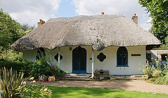 1809 in architecture - The Hermitage, Hanwell, London - cottage orné of 1809