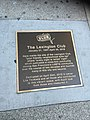 The Lexington Club sidewalk plaque, 2017.jpg